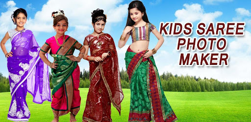 Kids Saree Photo Maker new - by MVLTR - Photography Category - 1,493