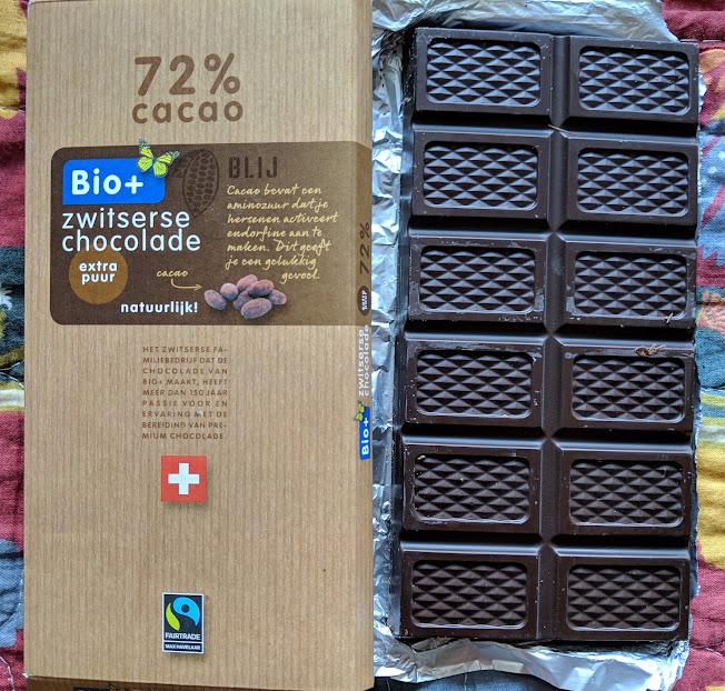 72% Bio Zwitserse Bar