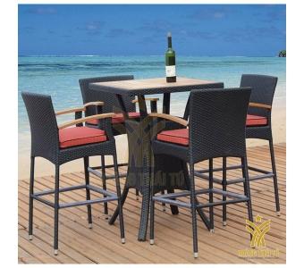 mẫu bàn ghế ngoài trời cho khu resort đẹp