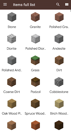 Knowledge book: craft, mobs and more Apk 1