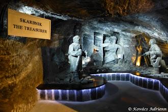 Photo: Wieliczka sóbánya - Karbnik a Kincstáros, a bánya jó szelleme