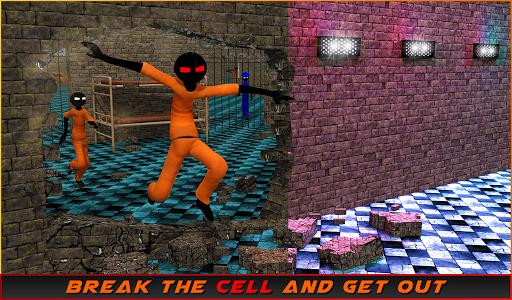 Stickman Prison Escape Story  screenshots 10