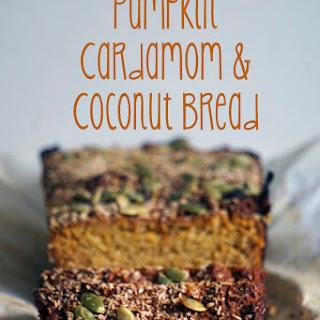 Pumpkin, Cardamom and Coconut Bread