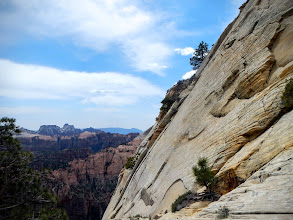 Photo: Rock wall