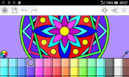 Mandalas coloring pages (+200 free templates) APK screenshot thumbnail 24