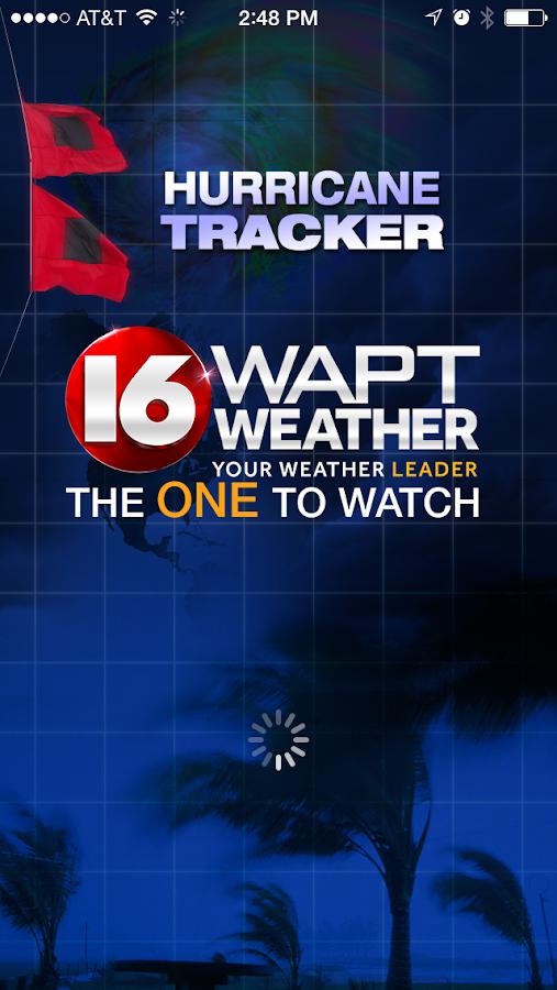 Hurricane Tracker 16 WAPT News- screenshot