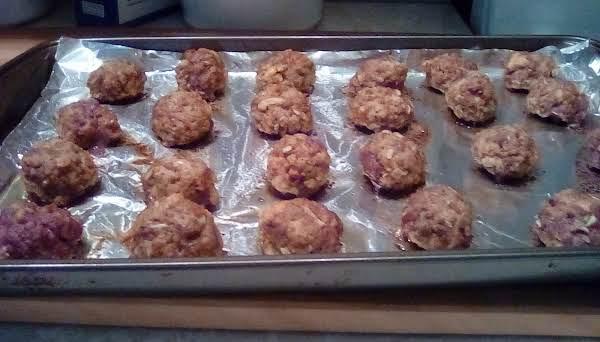 Mom's Easy Meatballs Recipe