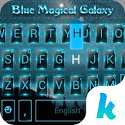 Bluemagicalgalaxy Keyboard Theme
