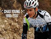 Opnieuw sterfgeval in het peloton: Chad Young bezwijkt aan verwondingen