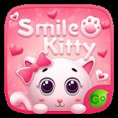 Tải Smile Kitty GO Keyboard Theme miễn phí