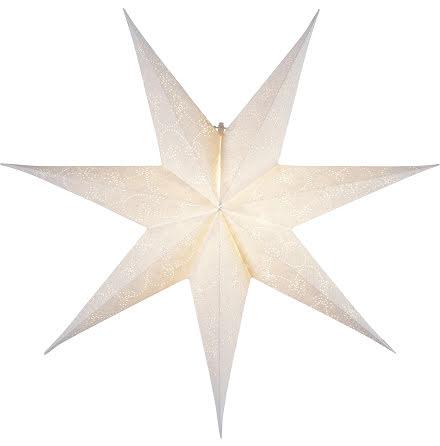 Julstjärna papper Decorus  Vit