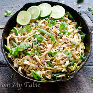 Healthy Vegetable Pad Thai