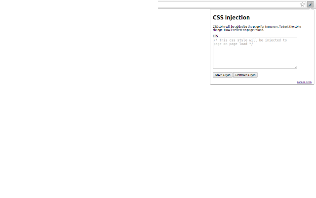 CSS JS injector