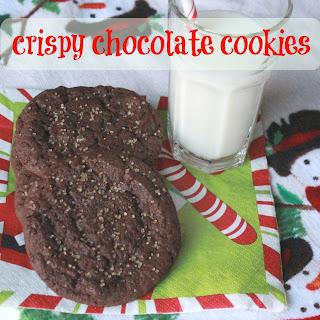 Crispy Chocolate Cookie Recipe