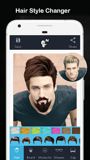 Men Hair Style - Photo Editor Apk 1