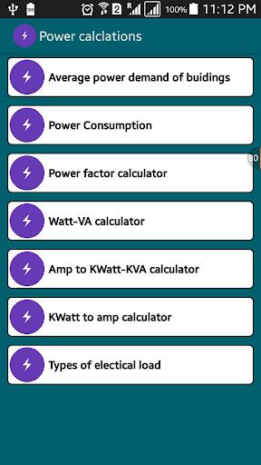 Watt VA Amp Volt Calculations
