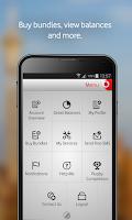 Screenshot of My Vodacom