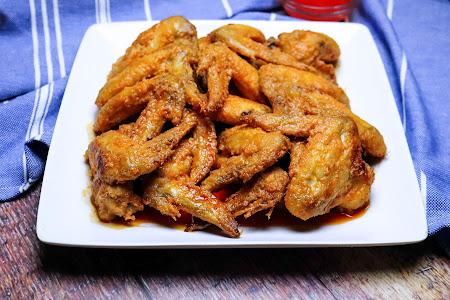 OVEN Baked Buffalo Chicken Wings Recipe