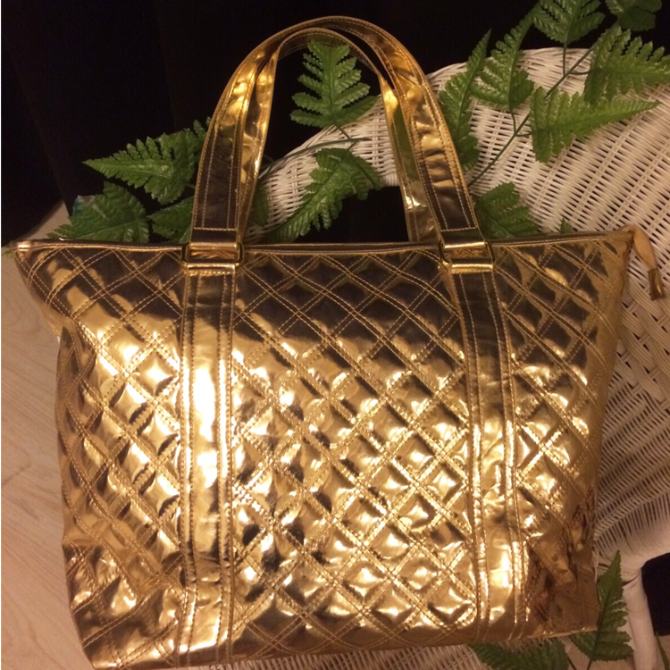 Casual Tote bag in Gold by Le Tea Boutique