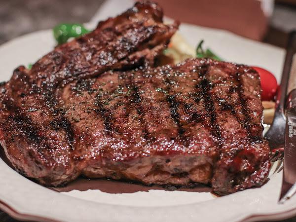 超強柴燒牛排-驢子餐廳/近年來吃到最滿意的牛排- 華泰王子大飯店