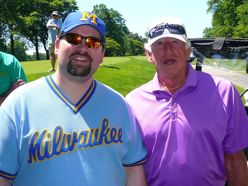 Photo: Me with Bob Uecker