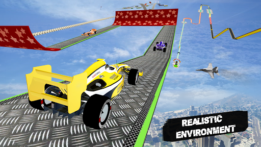Formula Car Racing Stunt 3D: Mega Ramp Car Stunts android2mod screenshots 9