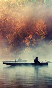fishing lake live wallpaper screenshot 0