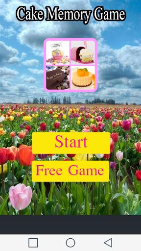 ケーキメモリーゲーム