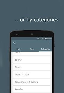 StartApp explore/advertise Apps - náhled