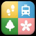 小田急沿線自然ふれあい歩道 お散歩ガイド icon
