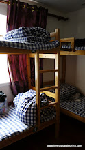 Photo: My dorm room at the Paiyunlou Hotel for 150 RMB per bed per night