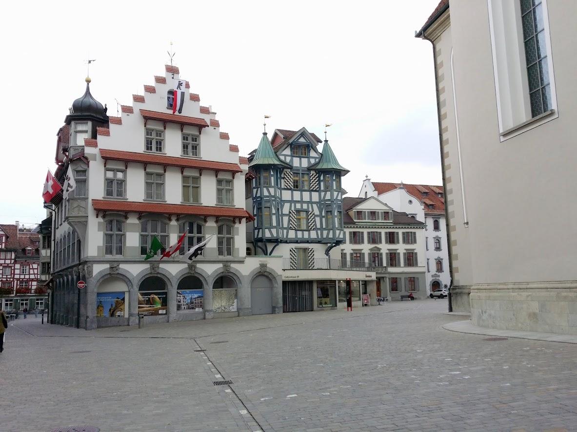 Vieille ville de Saint-Gall