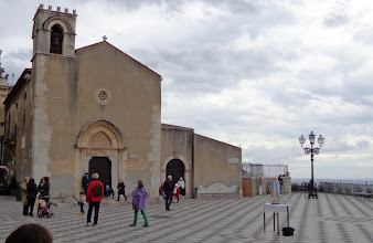 Photo: Piazza Sant Agostino - public library, once an Augustinian hemritage