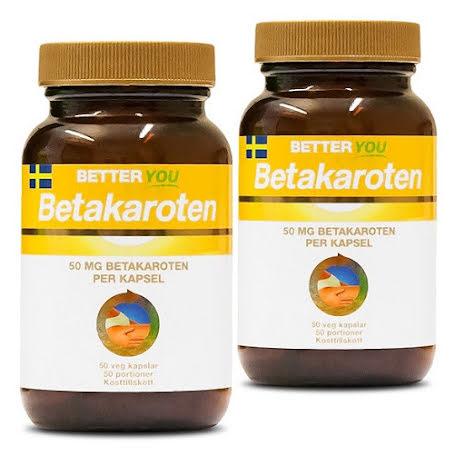 2 x Better You Betakaroten 50mg