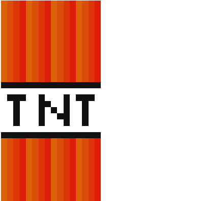 Tnt Minecraft Logo Wallpaper Clipart Vector Design