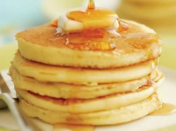 Almond Pancakes With Honey Syrup