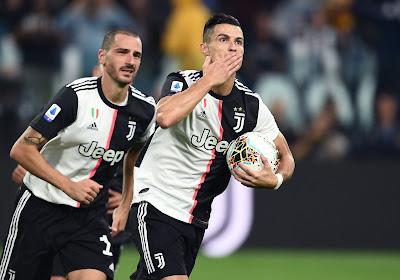 Overzicht Serie A: Cristiano Ronaldo loodst Juventus voorbij Sassuolo