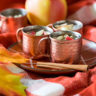 Mini Apple Cinnamon Moscow Mules