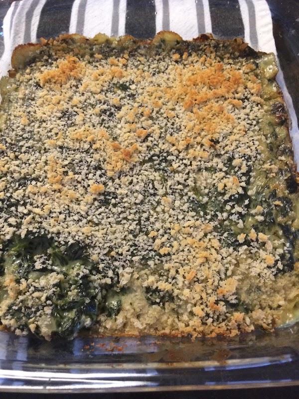 Margo's Spinach Madeleine Recipe