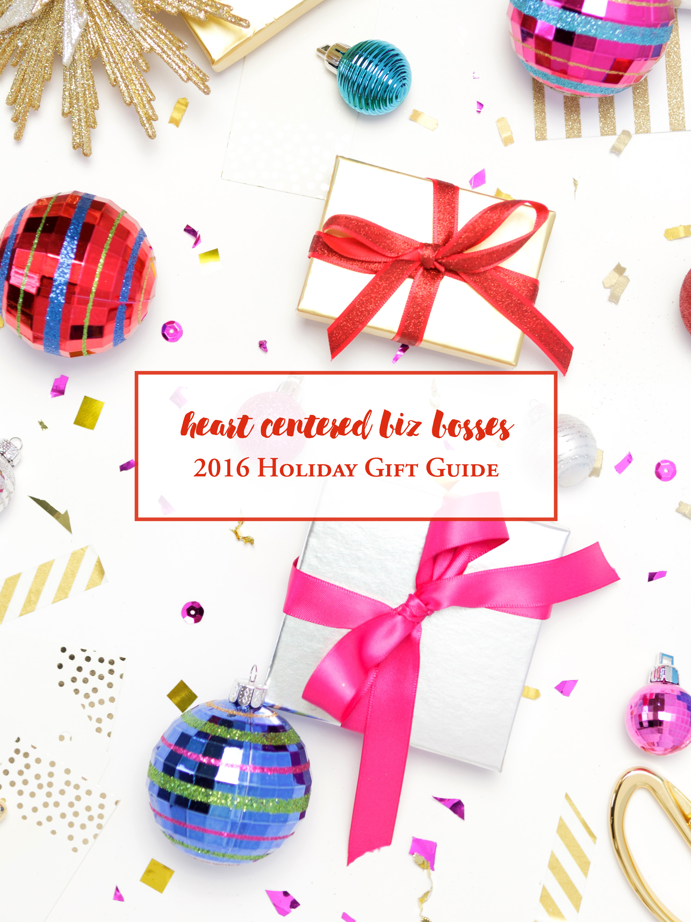 Heart Centered Biz Bosses Gift Guide