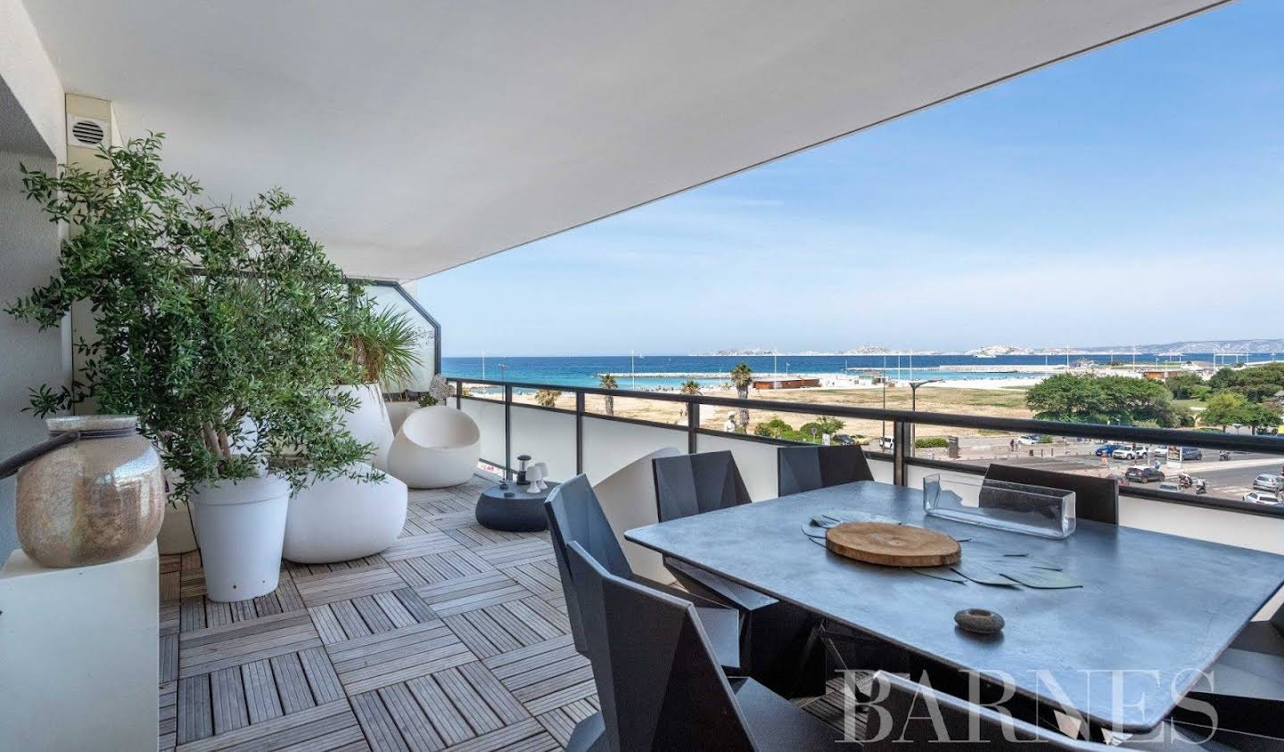 Apartment with terrace Marseille 8th