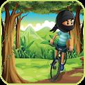 Ninja Stunts Jungle Bike Dash icon