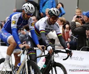 Tom Boonen komt met Peter Sagan terug op diens exit uit de Tour