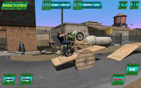 Army Dirt Bike Trial- screenshot thumbnail