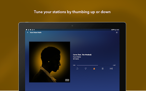 Pandora Music Screenshot