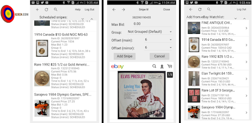 Gixen Ebay Auction Sniper Apps On Google Play