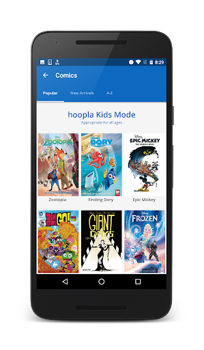 Hoopla Digital screenshot