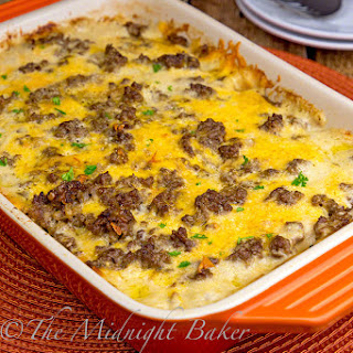 Cheesy Beef & Potatoes Casserole Recipe