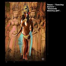 """Photo: Tanya - """"Dancing Aspara"""" - """"heavenly dancing girl""""."""