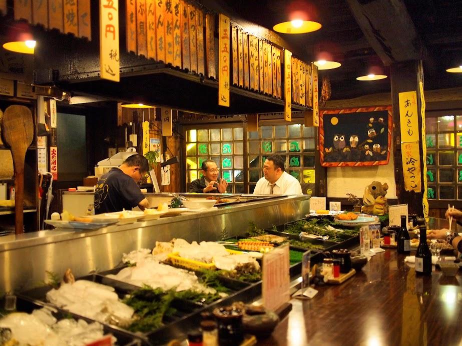 Inside an Izakaya in Tokyo